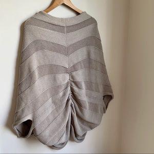 🆕 NY & CO Neutral Chunky Knit Cocoon Kimono Cardi